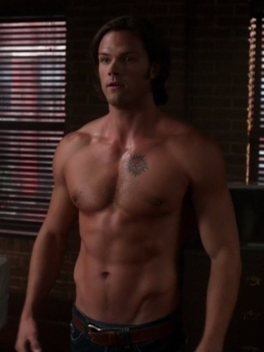 Shirtless Jared Padalecki