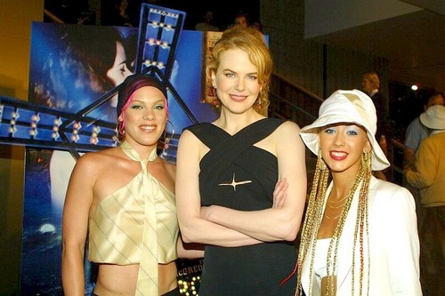 Nicole, Pink and Christina Aguilera