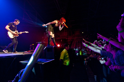 Paramore,Challenge Stadium, October 10th, 2010 Perth Australia