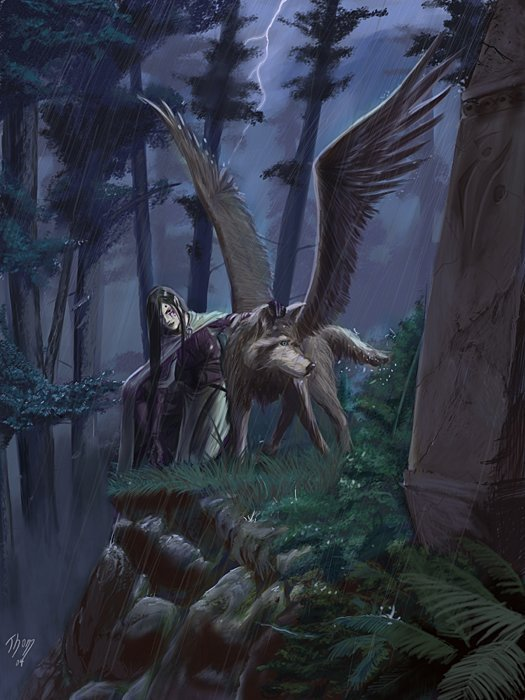 Winged Wolves - Winged Wolves Photo (16237152) - Fanpop