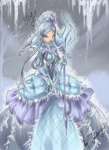 icy  the queen