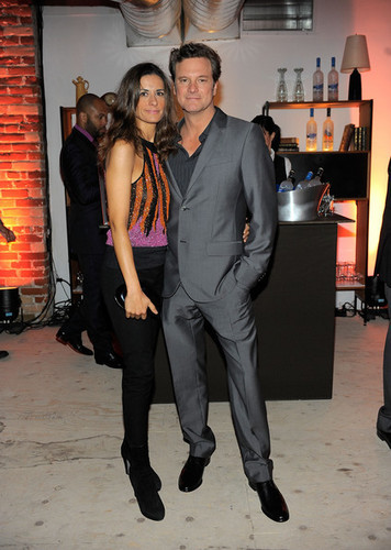 Colin Firth's 50th Birthday Party at Grey angsa Soho House Club