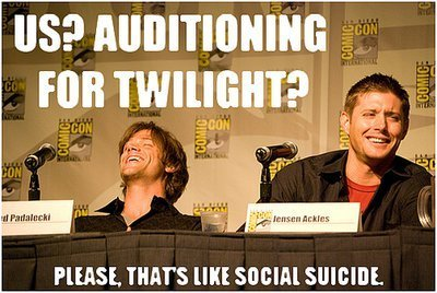 Jared and Jensen Supernatural