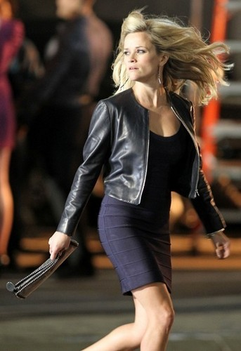 On Set of 'This Means War'