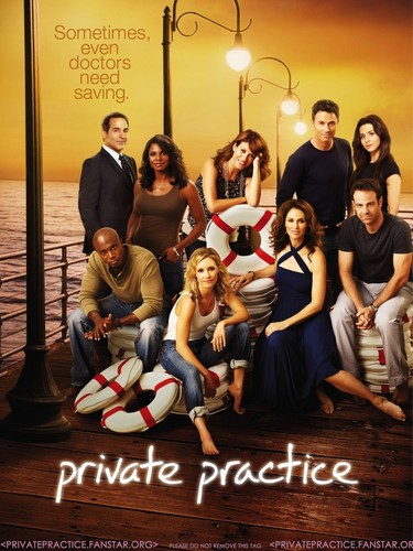 Private Practice - Cast Promotional picha Poster