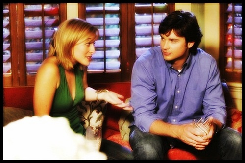 Allison Mack & Tom Welling