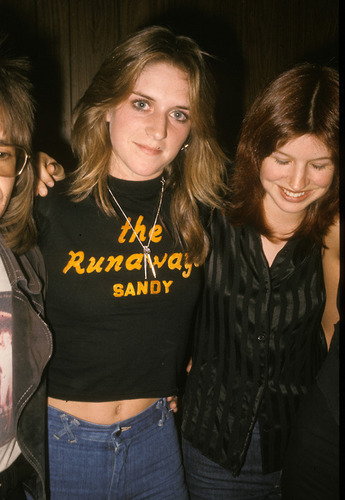 Sandy West & Micki Steele