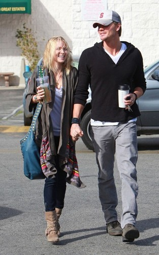 Chad Michael Murray and Kenzie Dalton: Coffee boutique Couple