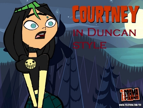 Courtney in Duncan style