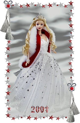 Holiday Barbie 2001