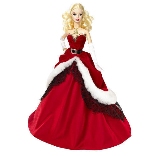 Holiday Barbie 2007