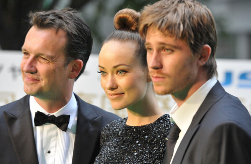 Olivia Wilde, Sean Bally & Garret Hedlund @ the Opening of the 2010 Tokyo Film Festival (HQ)