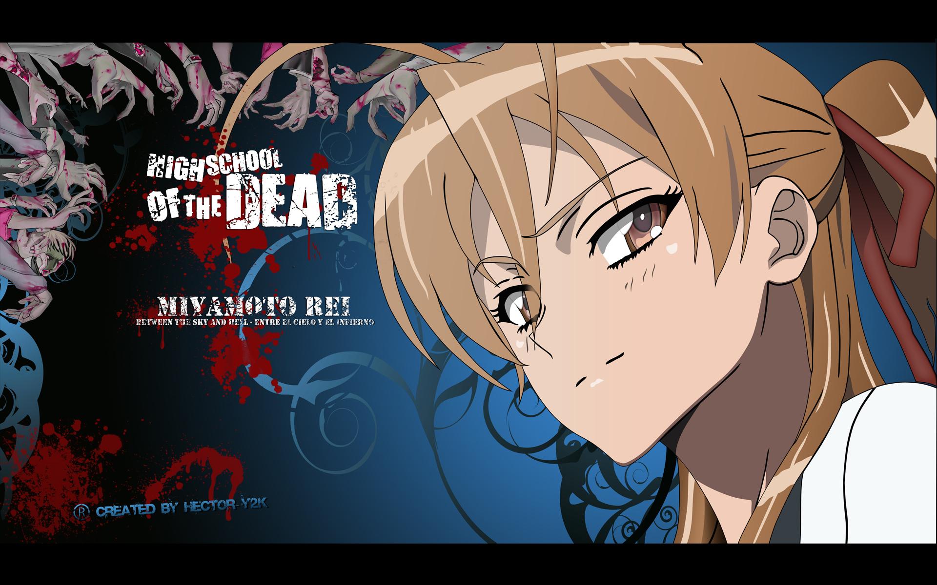 Rei Highschool Of The Dead Wallpaper 16513516 Fanpop