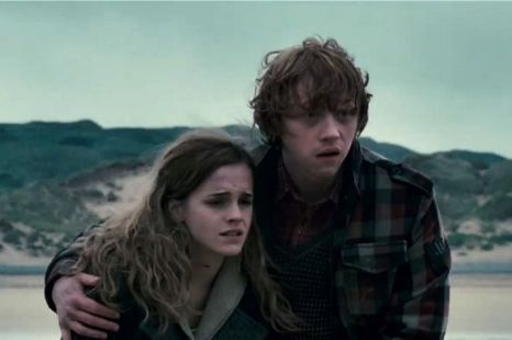 Ron and Hermione DH