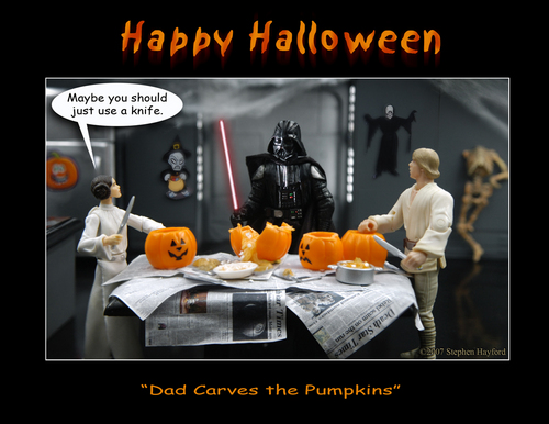 Skywalker family Halloween