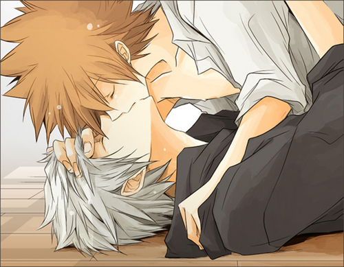 Tsuna and Gokudera