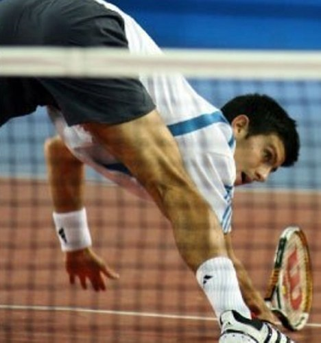 novak djokovic fall back