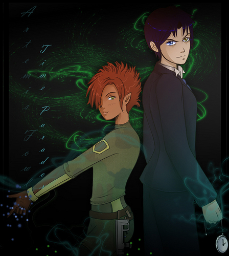 Artemis Fowl and azevinho, holly