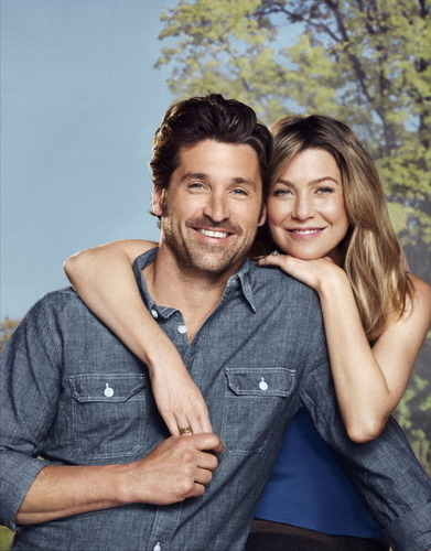 Ellen and Patrick's TV Guide Photoshoot