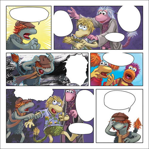 Fraggle Rock comic thing