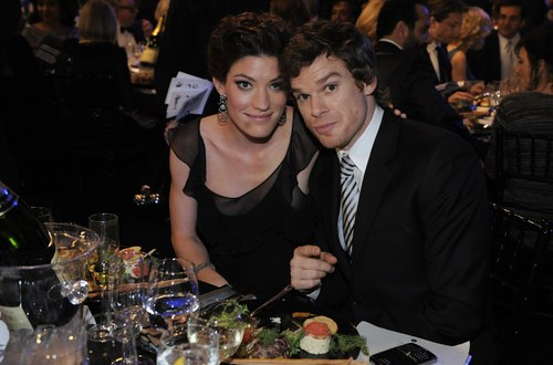 Jennifer Carpenter and Michael C. Hall at the SAG Awards 2009