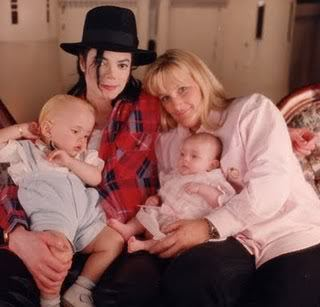 MJ with his children