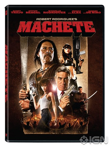 Machete DVD Cover