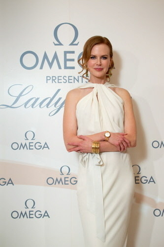 Nicole Kidman in Ladymatic door Omega