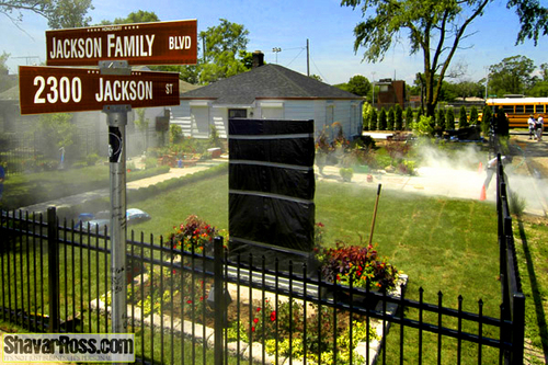 MJ house in Gary!!Looks good