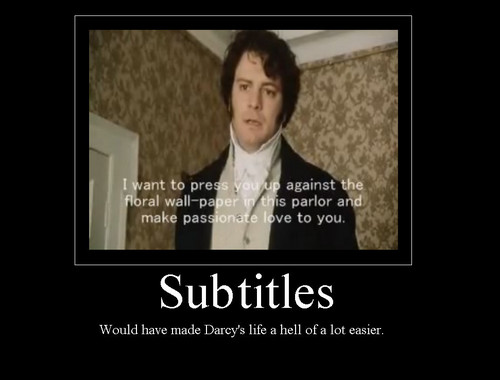 Pride and Prejudice Subtitles