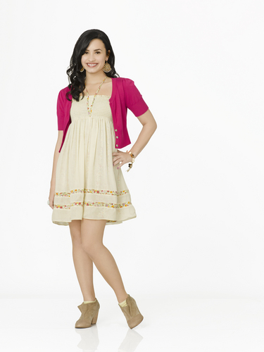Demi Lovato - Camp Rock 2: The Final geléia, geleia promoshoot (2010)