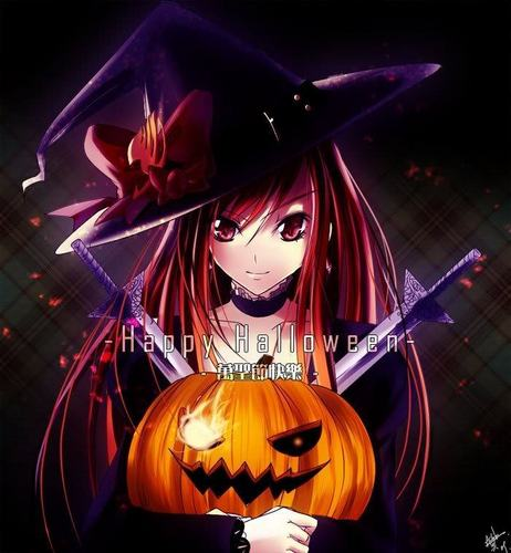 Erza this is Halloween