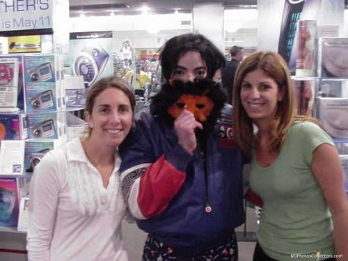 MJ and his fan «3