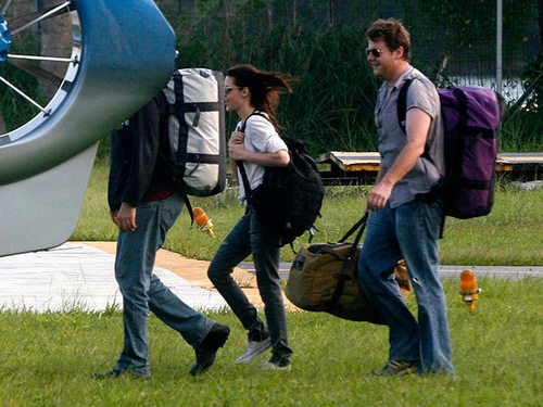 Rob and Kristen heading to Paraty