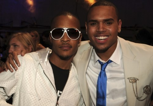 T.I and Chris Brown