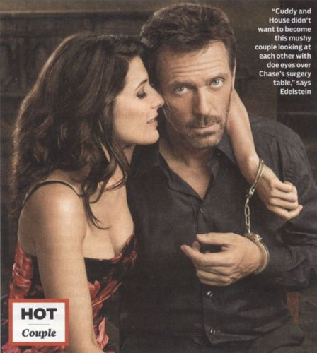 TV Guide: Lisa and Hugh as House & Cuddy