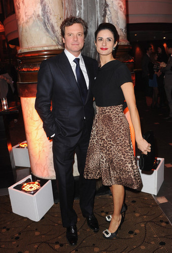 Colin Firth at The King's Speech Afterparty at 54th BFI London Film Festival