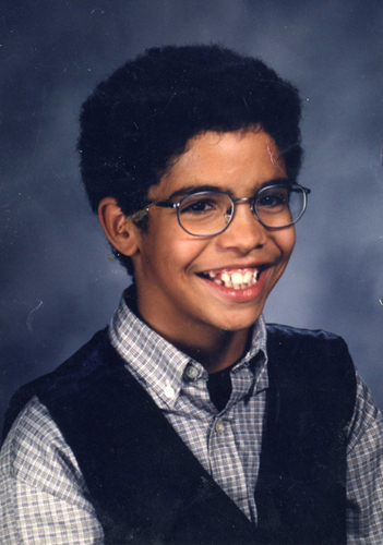 Drake as a little boy