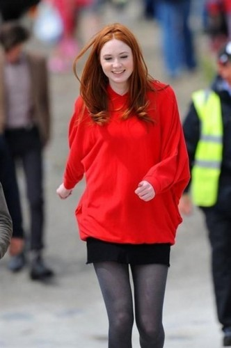 Matt & Karen filming 20th & 21st of July 2009