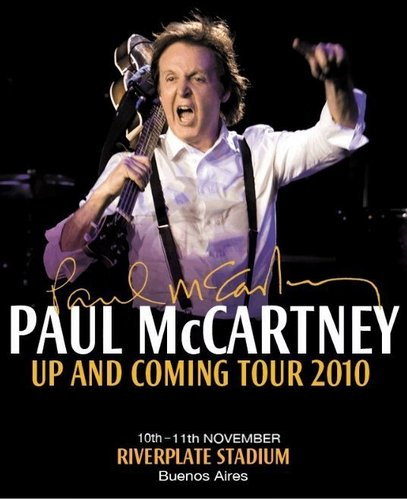 Up and Coming Tour in Argentina (11-11-2010)