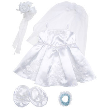 Build A Bear Smallfrys Images White Satin Wedding Dress Wallpaper And Background Photos