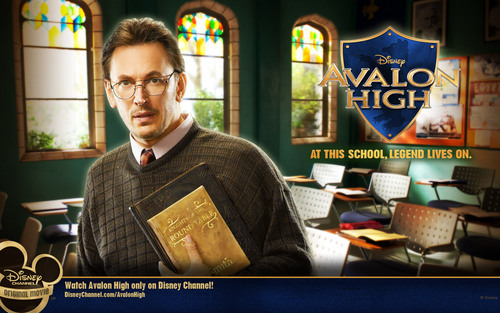 avalon high 壁紙