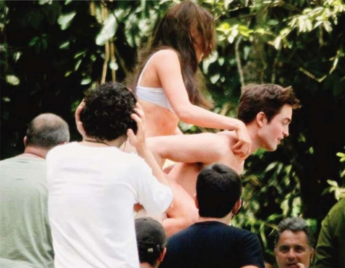 'Breaking Dawn Part 1' Filming at Paraty, Brazil