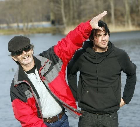 Ian and his father Robert Somerhalder
