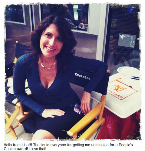 Lisa Edelstein Thanks Fans Via Twitter
