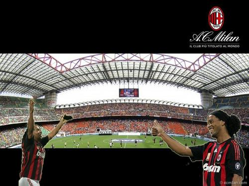 Ronaldinho is a player of AC Milan.