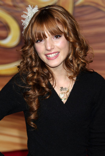 "Bella At The ""Tangled"" Premiere"