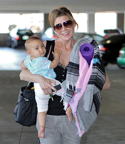 Ellen Pompeo and Her Daughter Stella