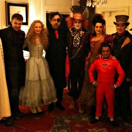 Halloween In White House 2009-Johnny Depp