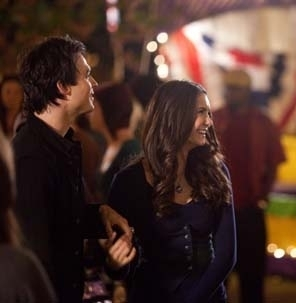 Ian/Nina On Set ღ